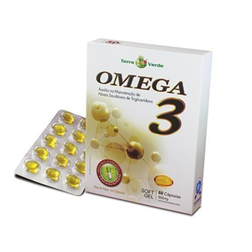 OMEGA 3 - 60 CAPS - TERRA VERDE