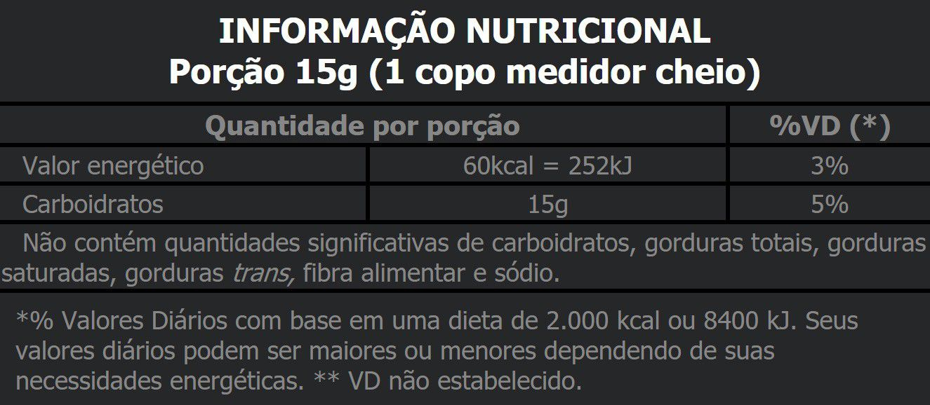 PALATINOSE ISOMALTULOSE 300G - BODY ACTION