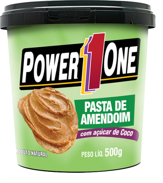 PASTA POWER ONE COM AÇUCAR COCO 500G