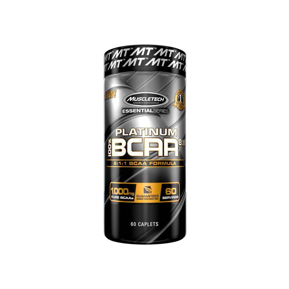PLATINUM 100% BCAA 60 TABS - MUSCLETECH