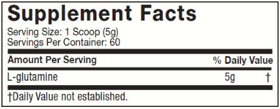 PLATINUM 100% GLUTAMINE 100G - MUSCLETECH