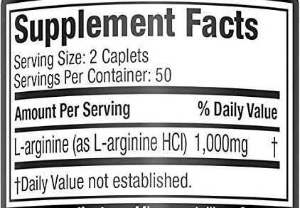 PLATINUM 100% L-ARGININA 100 TABS - MUSCLETECH