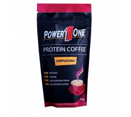 PROTEIN COFFEE CAPPUCCINO - POWER ONE