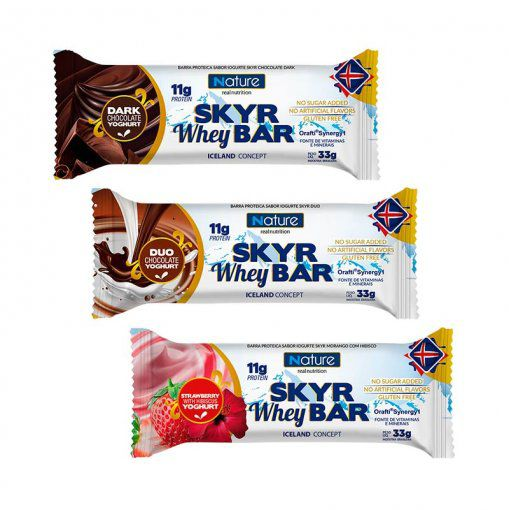 SKYR WHEY BAR - 33g - NUTRATA NATURE