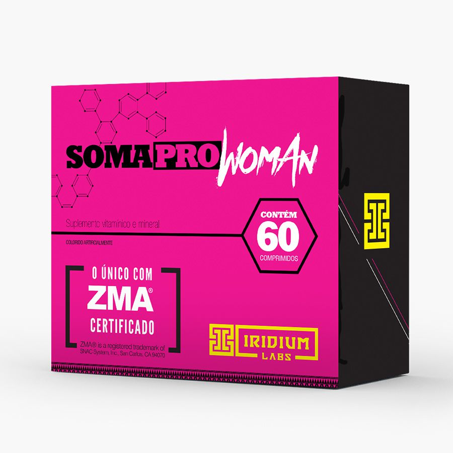 SOMA PRO WOMAN ZMA 60 CAPS - IRIDIUM LABS