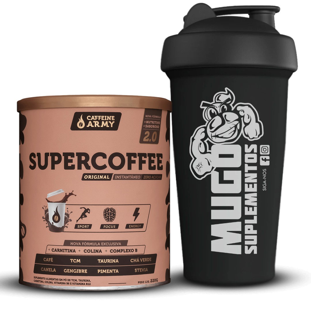 SUPERCOFFE 2.0 + COQUETELEIRA