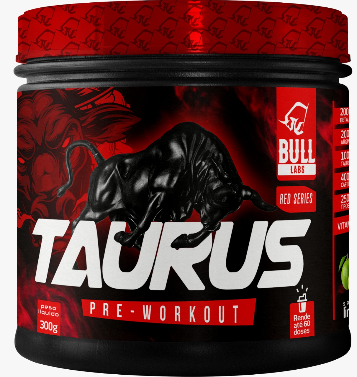 TAURUS PRE-WORKOUT 300G - BULL LABS