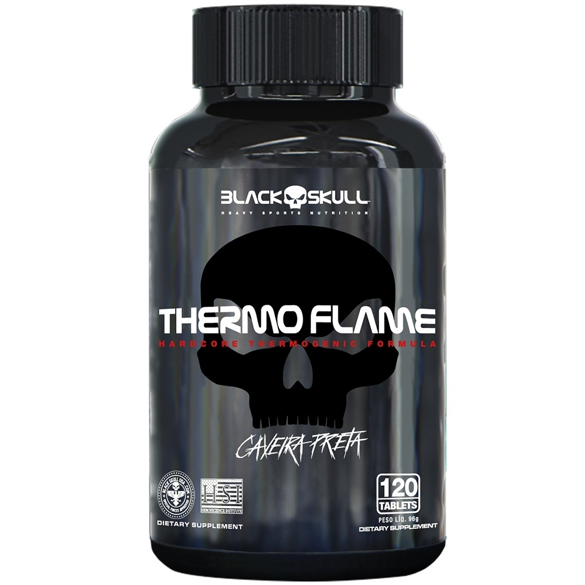 Thermo Flame 120 Tabs – Black Skull
