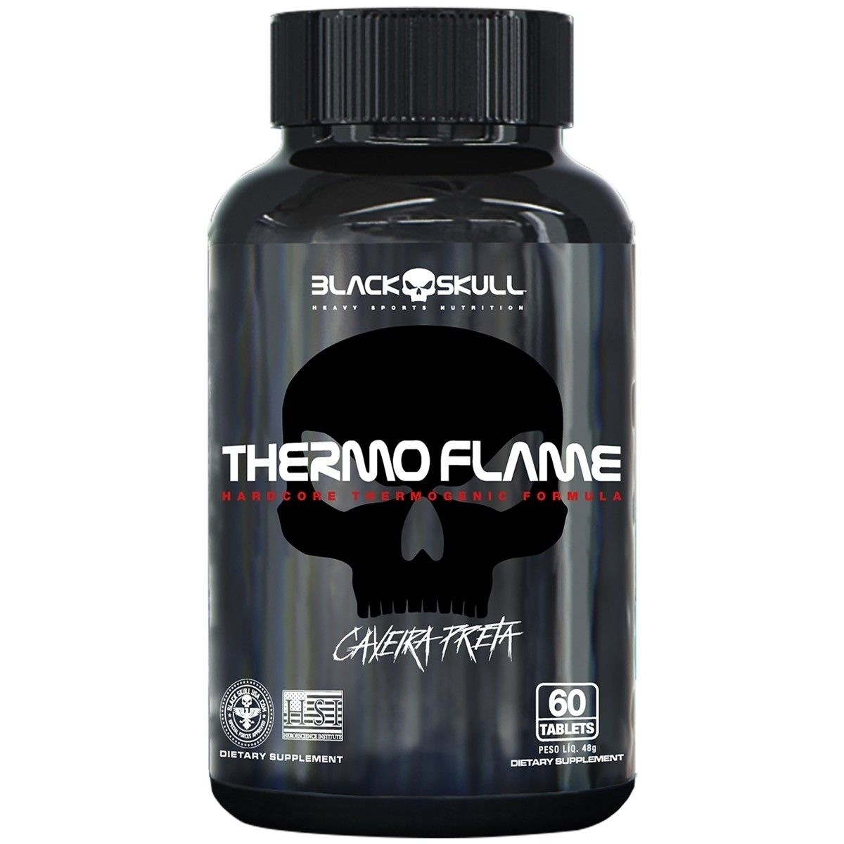 Thermo Flame 60 Tabs  Black Skull