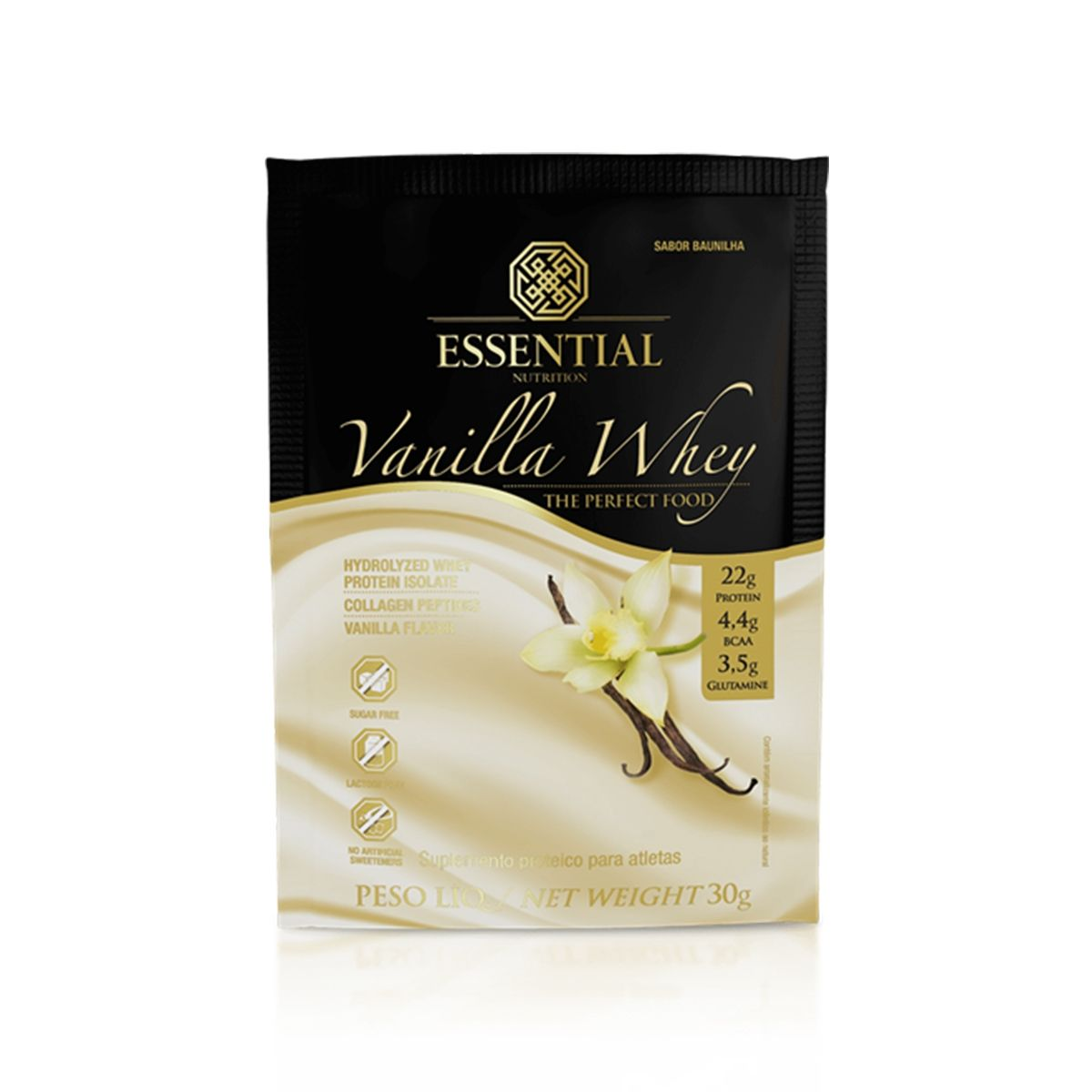 VANILLA WHEY(DOSE UNICA) - ESSENTIAL NUTRITION