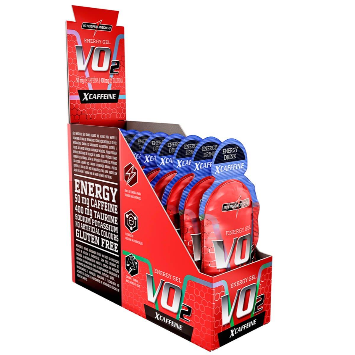 VO2 Energy Gel XCAFFEINE - 30g - INTEGRALMÉDICA