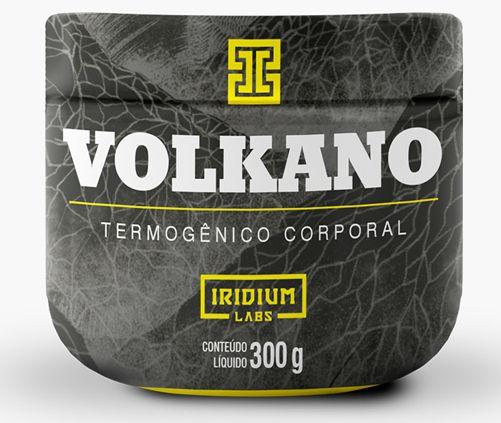 VOLKANO TERMOGÊNICO CORPORAL 300G - IRIDIUM LABS
