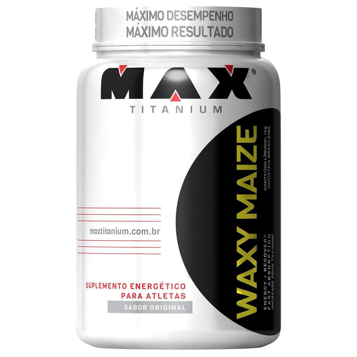 WAXY MAIZE - MAX TITANIUM - 1KG