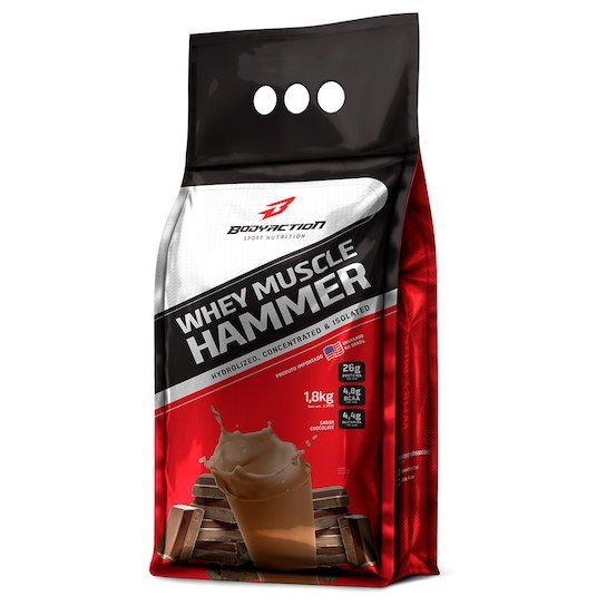 WHEY MUSCLE HAMMER REFIL 1,8KG - BODYACTION