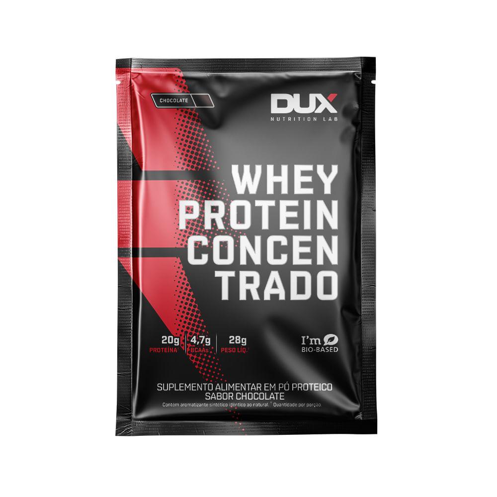 WHEY PROTEIN CONCENTRADO - SACHÊ 28G - DUX NUTRITION
