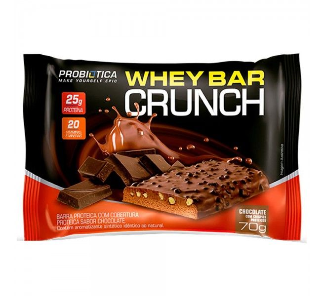 WHEYBAR MONSTER CRUNCH CHOCOLATE - PROBIOTICA