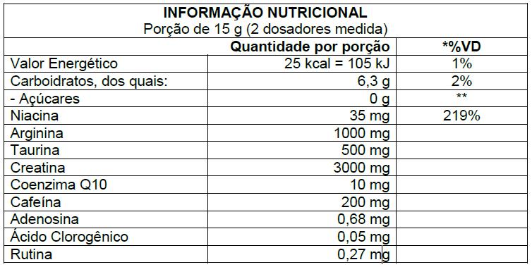 X PREWORKOUT 225G - ATLHETICA NUTRITION