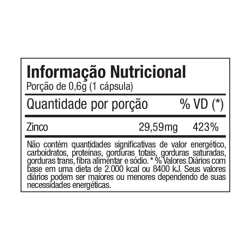 ZINCO 60 CÁPS - FITOWAY