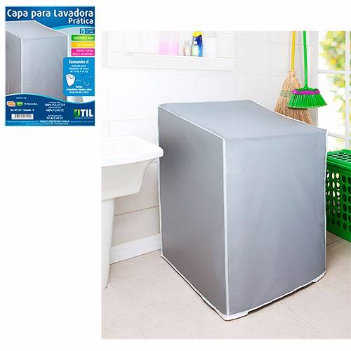 Capa Para Lavadoura Simples Tamanho M De 10 A 11kg 001120