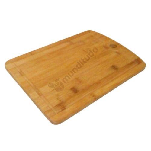 Kit De Facas Aço Inox Tábua De Bambu Para Churrasco 5 Pcs