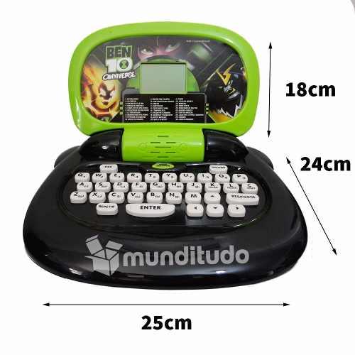 Laptop Notebook Ben 10 Omnibook 30 Atividades Candide