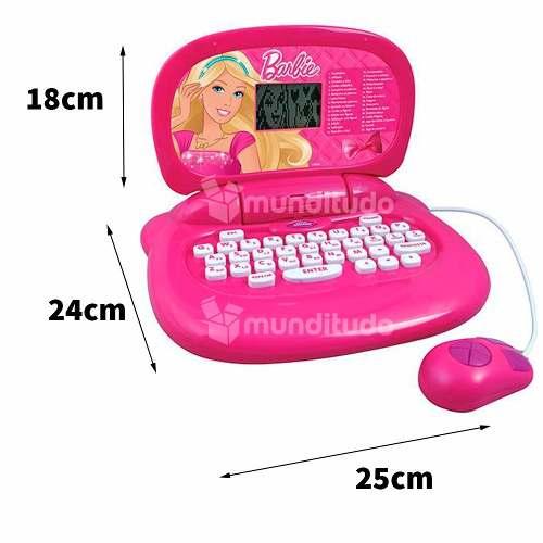 Laptop Notebook Infantil Da Barbie 30 Atividades Da Candide