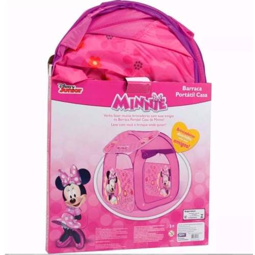 Casinha Barraca Toca Infantil Da Minnie Licenciado Disney