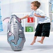 João Bobo Inflável 3 D Animais Divertidos Elefante