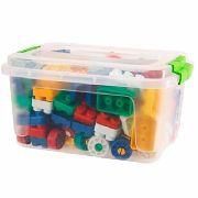 Blocos Para Montar Com 112 Peças Sortidas Brinquedo Infantil