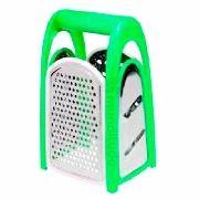 Ralador De Aço Inox 4 Faces Colorido Verde Xc298 Oferta