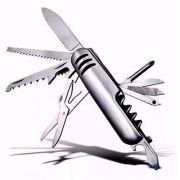 Canivete Multifuncional De 11 Funções Em Aço Inox Oferta