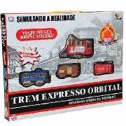 Trenzinho Expresso Orbital Com 19 Peças