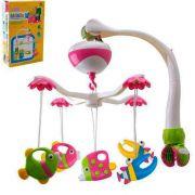 Mobile Musical Giratório Brinquedo Para Berço e Carrinho de Bebê
