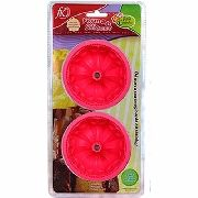 Forma Silicone Flan Pudins Mousse Rosa 2 Un Fk2272 Oferta
