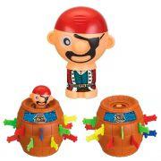 Barril Pula Pirata Brinquedo Educativo Jogo Infantil Pequeno