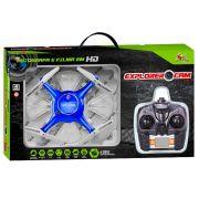 Drone Controle Remoto 2.4 Ghz 4 Canais Câmera Filma Em HD