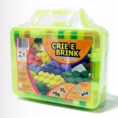 Brinquedo Educativo Com 56 Peças Sortidas Para Montar