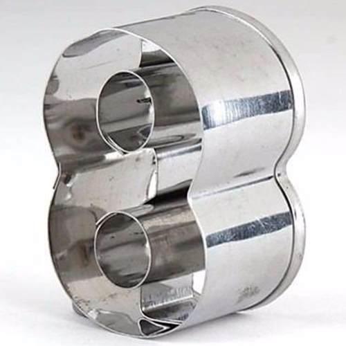 Forma De Aço Inox Números 10 Peças Plaza Hércules Mundial