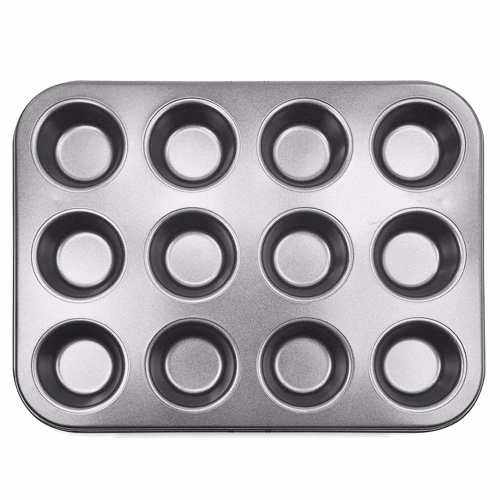 Forma Mini Pão De Queijo 12 Cavidades Antiaderente Teflon