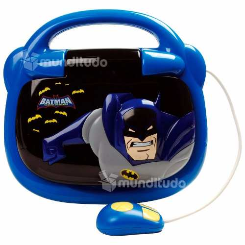 Laptop Notebook Infantil Do Batman 30 Atividades Da Candide
