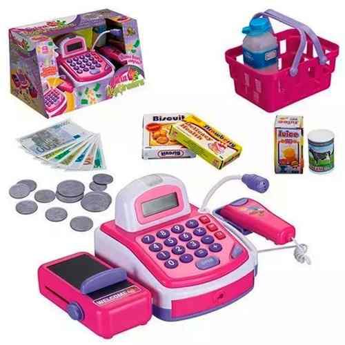 Caixa Registradora Infantil Brincando De Fazer Compras
