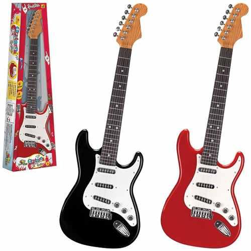 Guitarra Eletrônica Brinquedo Infantil Rock Star Cores