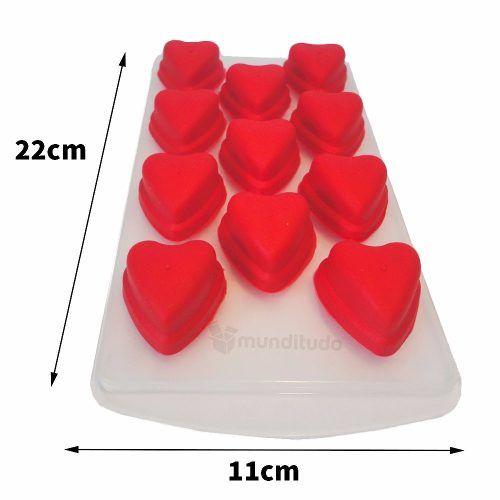 Forma Gelo De Silicone Em Formato De Coração Oferta Barato