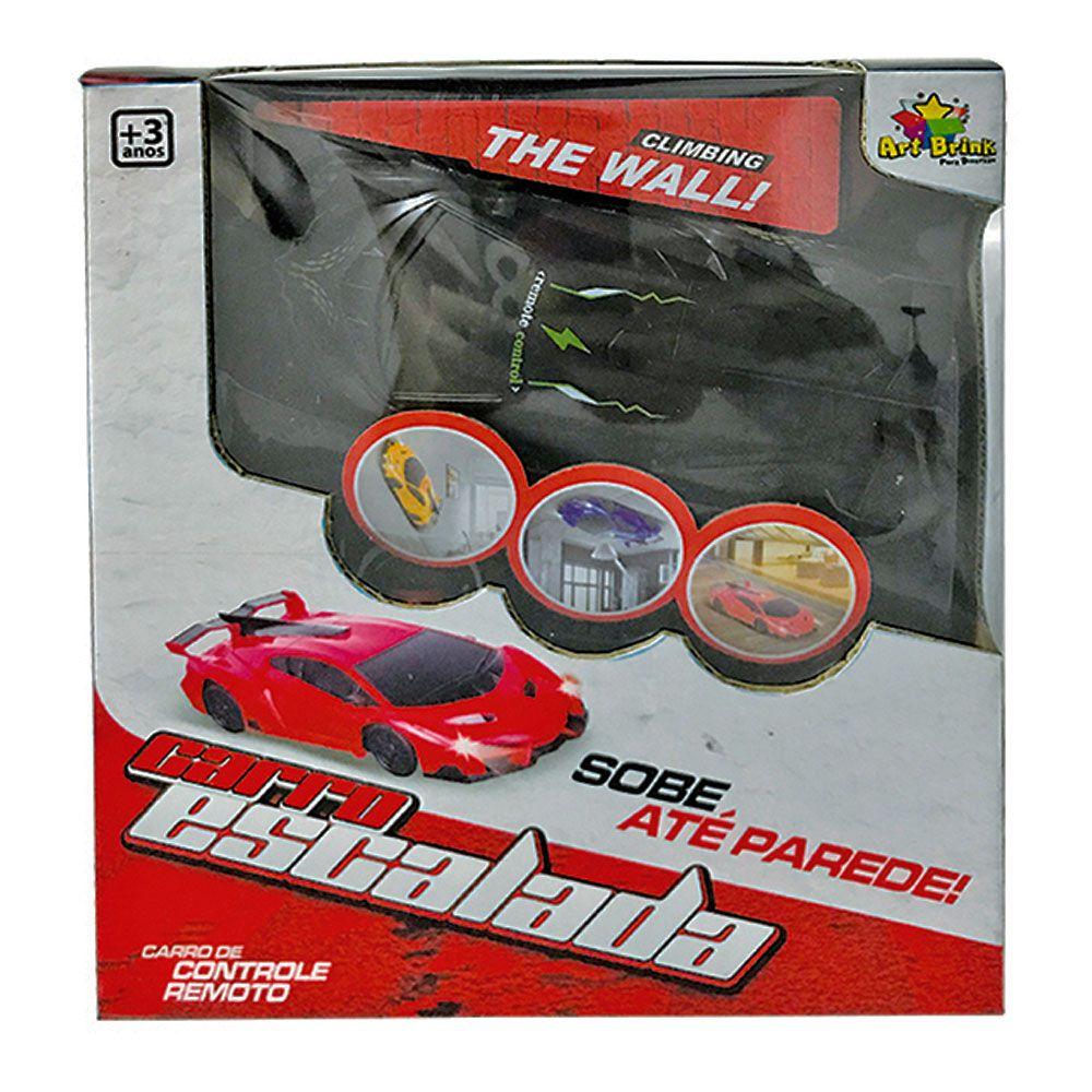 Carrinho de Controle Remoto Escalada Lamborghini Sobe Parede