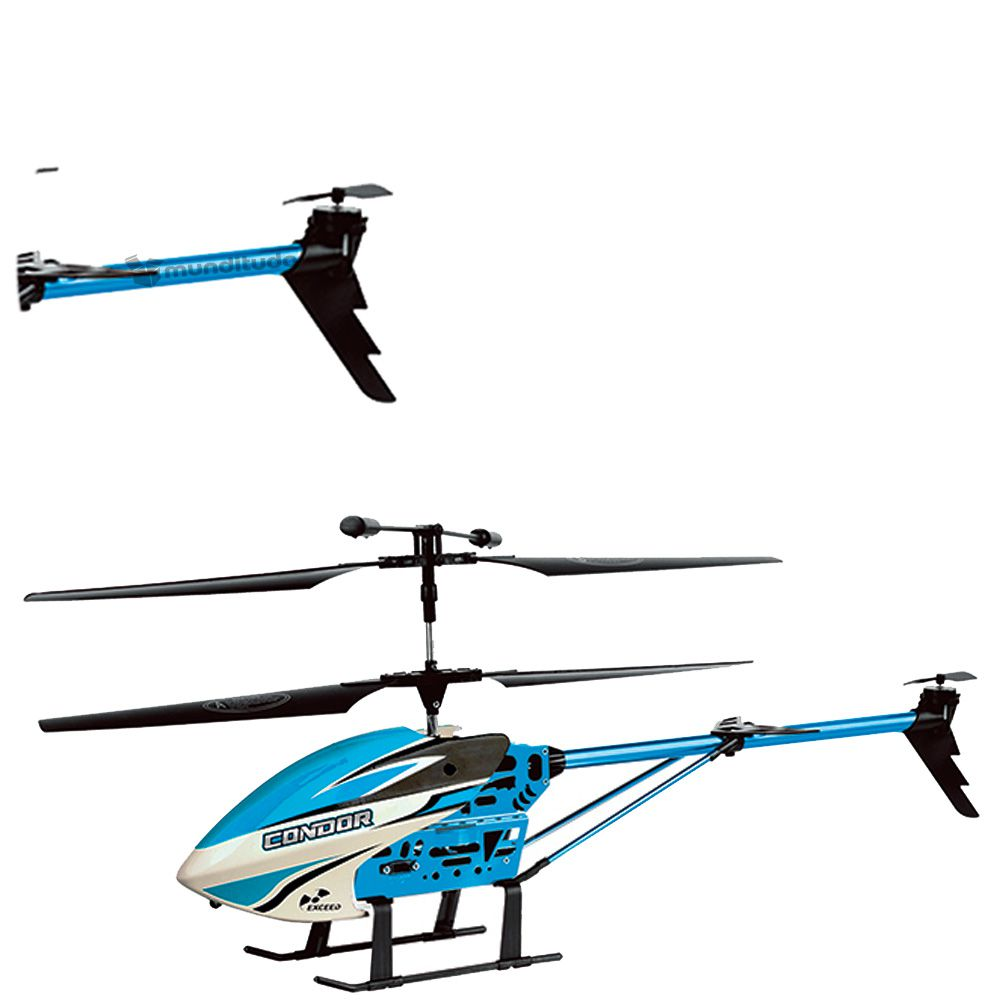 Helicoptero Controle Remoto Condor 2.4 Ghz 3.5 Canais