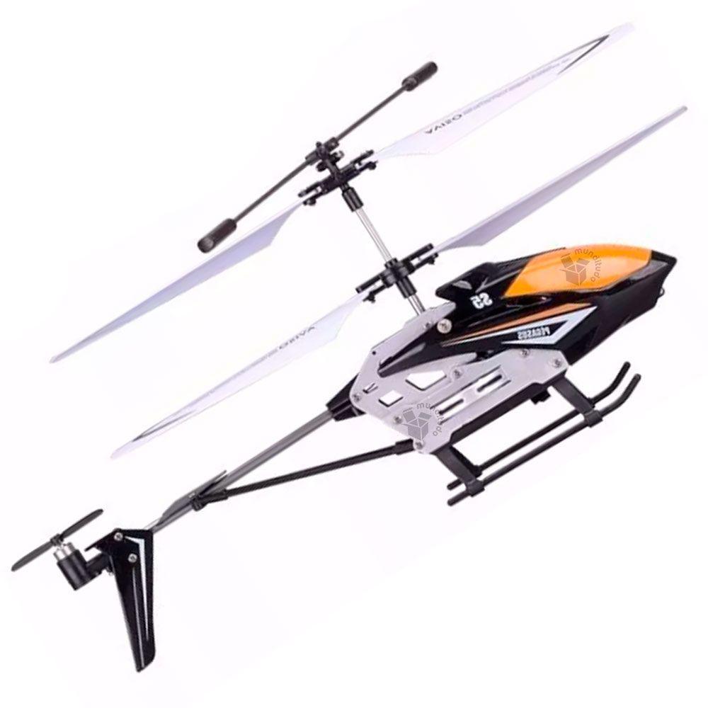 Mini Helicoptero Controle Remoto 3 Canais Pegasus