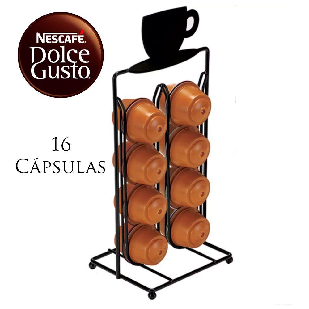 Suporte Porta Cápsula Nescafé Dolce Gusto para 16 Cápsulas