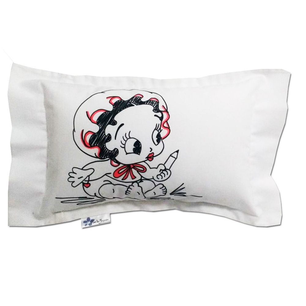 Travesseiro Personalizado Betty Boop Bebê P 20 cm x 30 cm