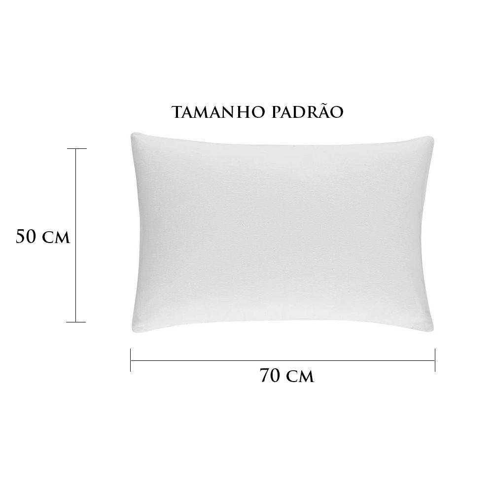 Travesseiro Personalizado Dama Padrão 50 cm x 70 cm