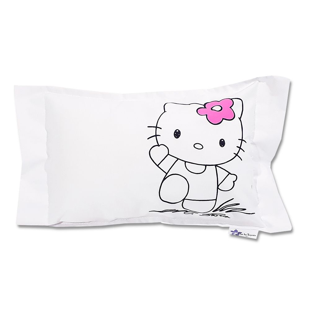 Travesseiro Personalizado Hello Kitty 1 M 30 cm x 40 cm